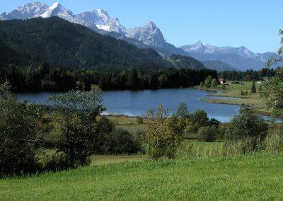 Geroldsee mit Zugspitze