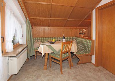 Ferienwohnung Wetterstein - Essecke