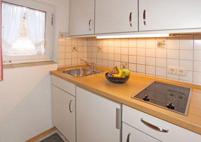 Ferienwohnung Wetterstein - Küche