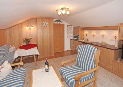 Ferienwohnung Zugspitze - Wohnküche